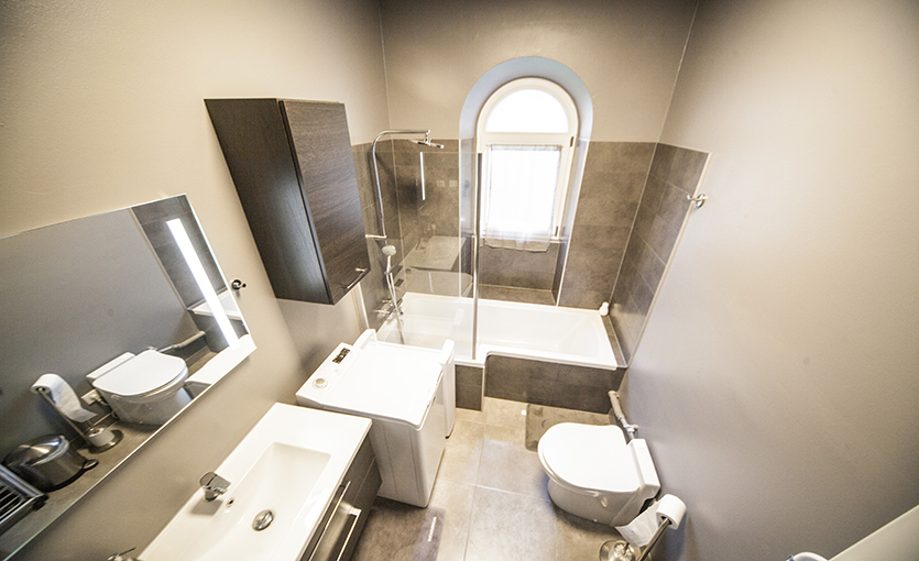 salle de bain renovee