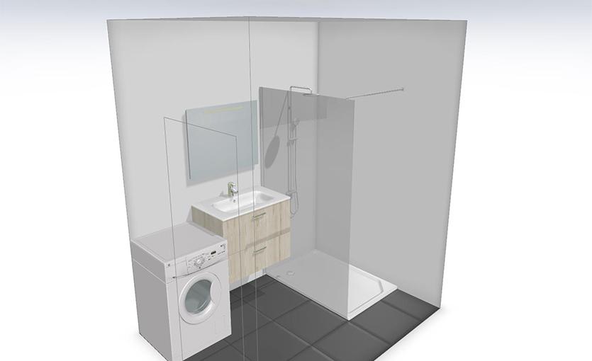aménager petite salle de bain